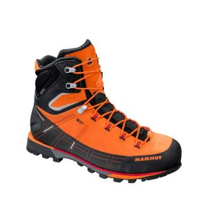 Vysokohorská obuv Mammut Kento High GTX Men Sunrise - Black