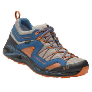Trekingová obuv Garmont 9.81 Trail Pro III GTX Night Blue - Dark Orange