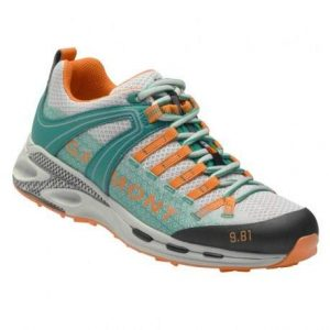 Trekingová obuv Garmont 9.81 Speed III wmn Light Grey - Teal