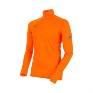 Funkčná mikina Mammut Moench Advanced Half Zip Longsleeve Sunrise