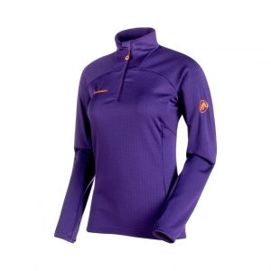 Funkčná mikina Mammut Moench Advanced Half Zip Longsleeve Women Arctic
