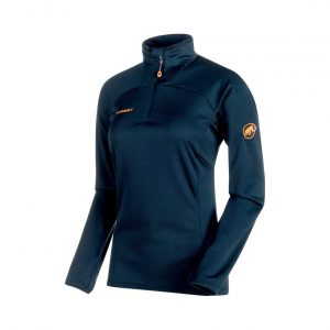Funkčná mikina Mammut Moench Advanced Half Zip Longsleeve Women Night