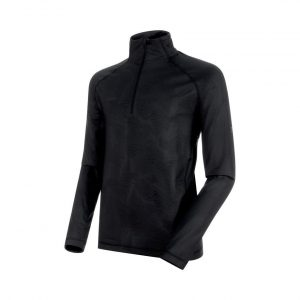 Pánska mikina Mammut Snow Half Zip Men Black